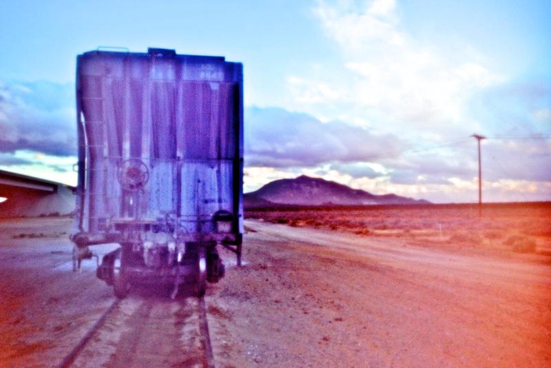 Blue Hopper Car – Mojave, California – 2010