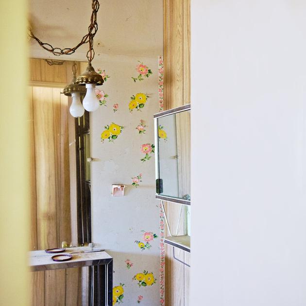 Trailer Bathroom Off Schabbell Lane – Fort Independence, California – 2011