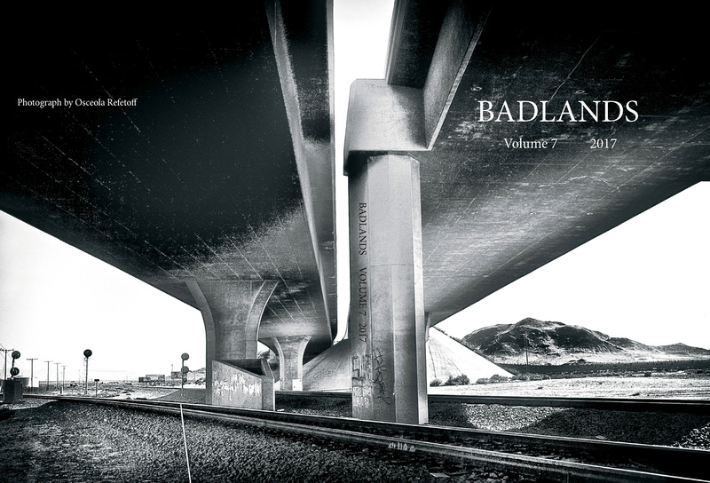 Badlands Literary Journal –Cover Photo/Feature Article– 2017