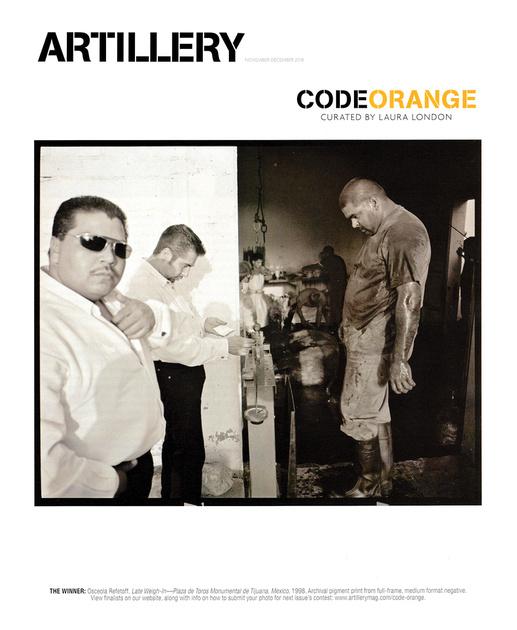 Artillery Magazine – Code Orange – Nov-Dec 2018