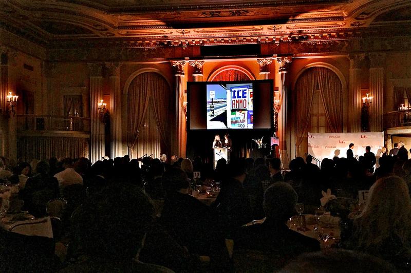 Los Angeles Press Club National Journalism Awards – December 2018
