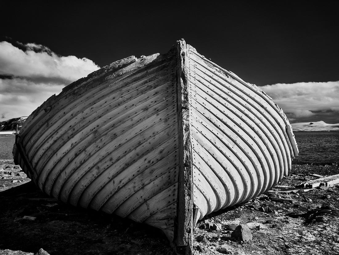 Abandoned Whaleboat – Half Moon Island, Antarctic Peninsula – 2020