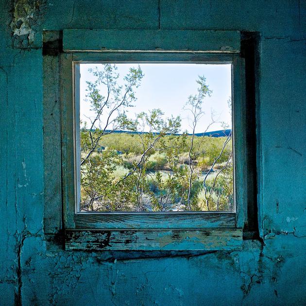 Window with Creosote Bush – Dunmovin, California – 2010