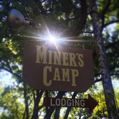 Miner's Camp Sign - Foresthill, CA - 2016