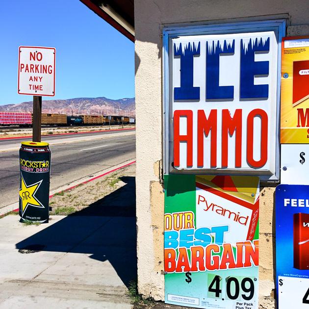 ICE/AMMO - Mojave, CA - 2016