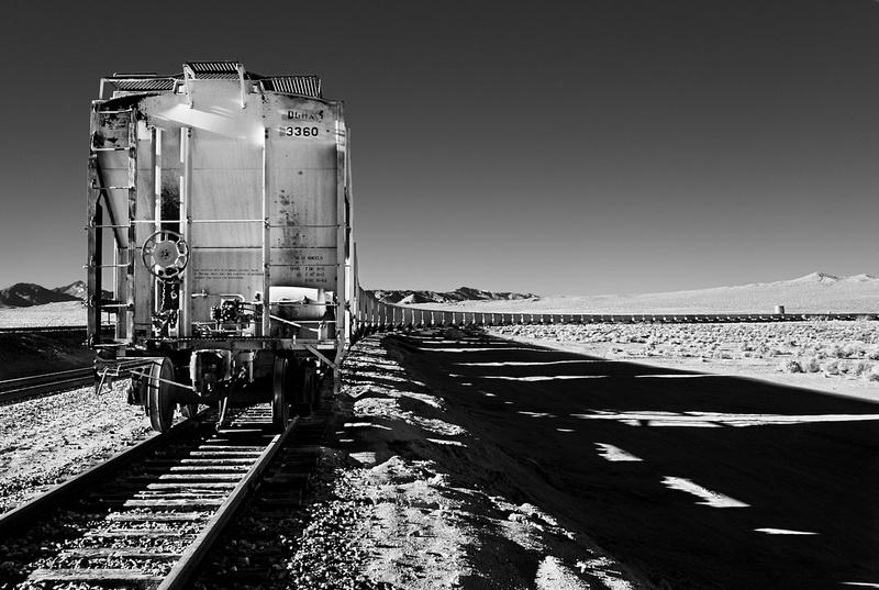Boxcars - Searles, CA - 2010