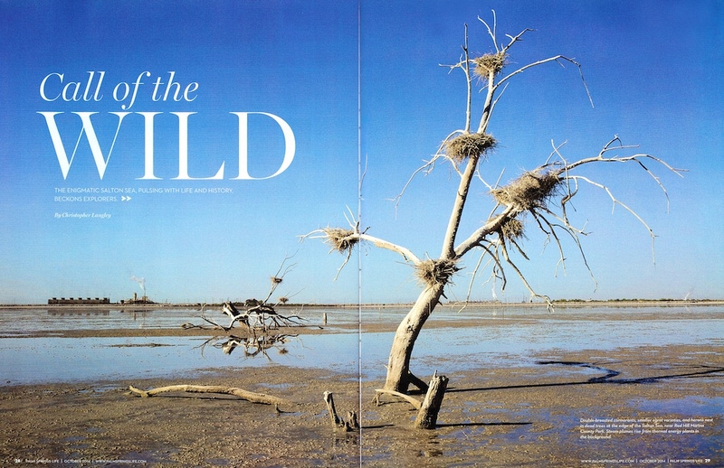 Call of the Wild - Palm Springs Life Magazine - October 2014