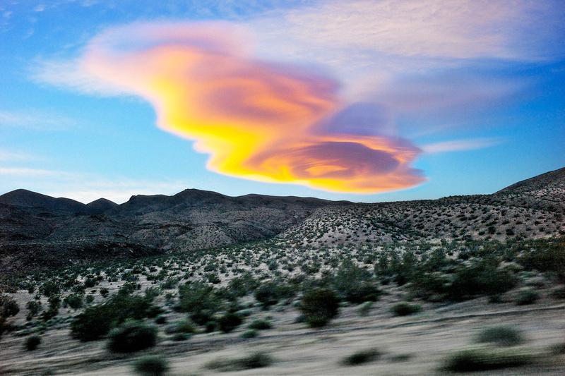 The Cloud that Followed Me Home - Garlock, CA - 2011